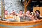Pokřtění koupacího sudu